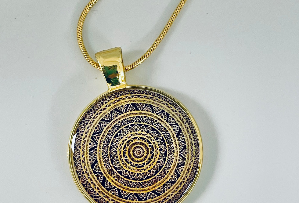 Golden Hour Necklace by Mira Patel