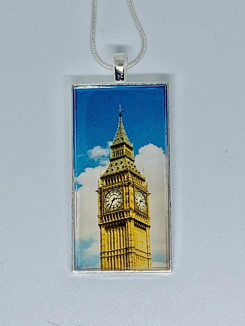 Big Ben Necklace or Keychain