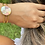Thumbnail: Quilted Cuff Bangle
