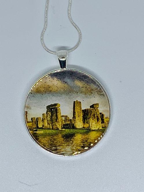 Stonehenge Necklace or Keychain