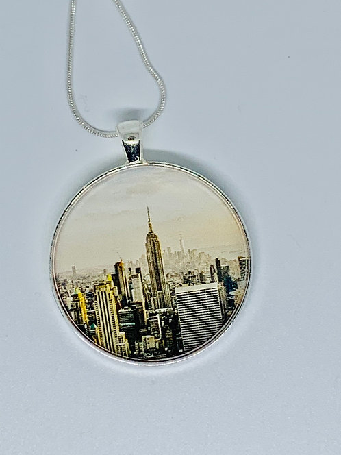 NYC Necklace or Keychain