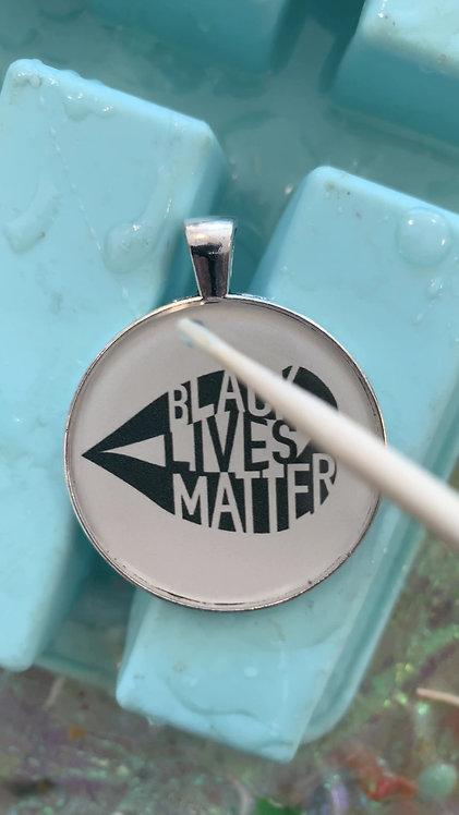 Black Lives Matter Necklace or Keychain