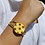 Thumbnail: Sunflower Field Cuff Bangle