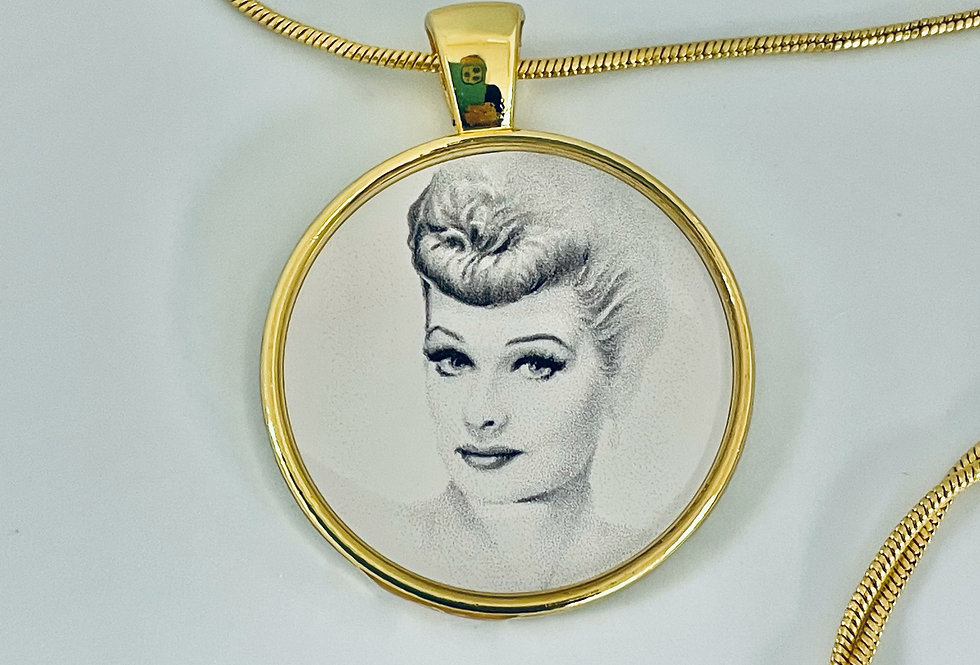 I Love Lucy Necklace