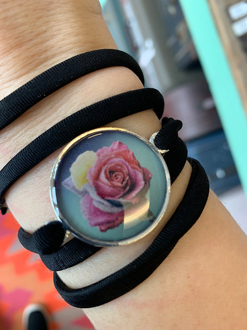 Rose in Color Wrap