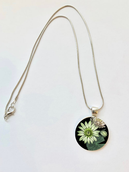 Pond Series: Lily Pad Necklace