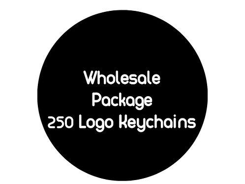 Logo Keychains: 250 Pieces