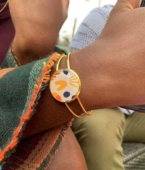 Mod Style Cuff Bangle
