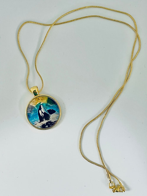 Orca Necklace by Signe Knutson