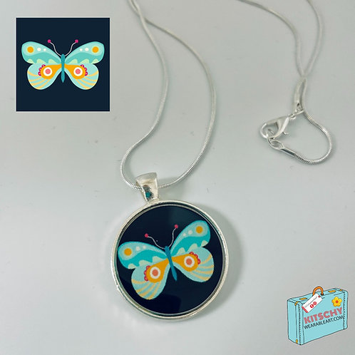 Winged Necklace by Blissful Flamingo Design