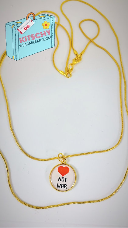 Love Not War Layered Necklace