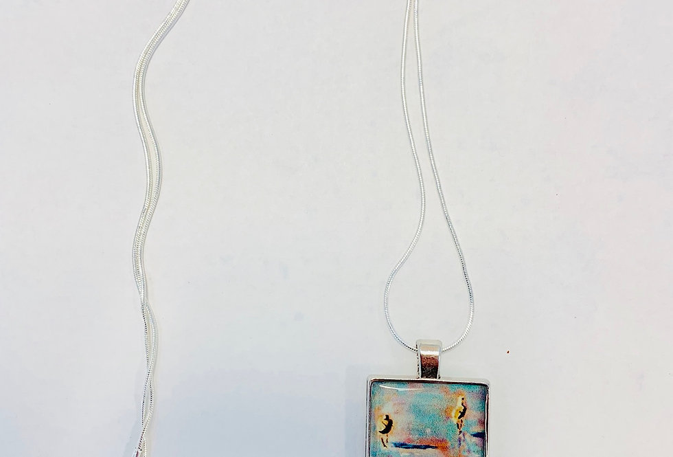 Seabirds Necklace: Donna Theresa Collection