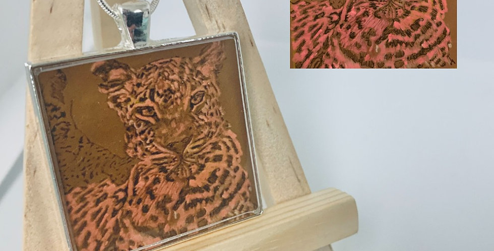 Mother Cheetah Necklace by Sarah Judd