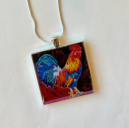 Cocky Necklace: Sally C.Evans