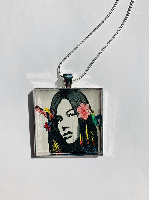 Graffiti Girl Necklace