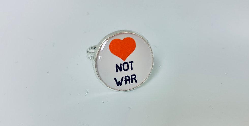 Love Not War Ring