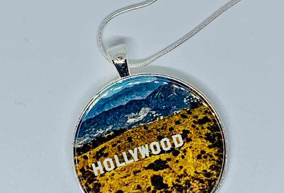 Hollywood Necklace or Keychain