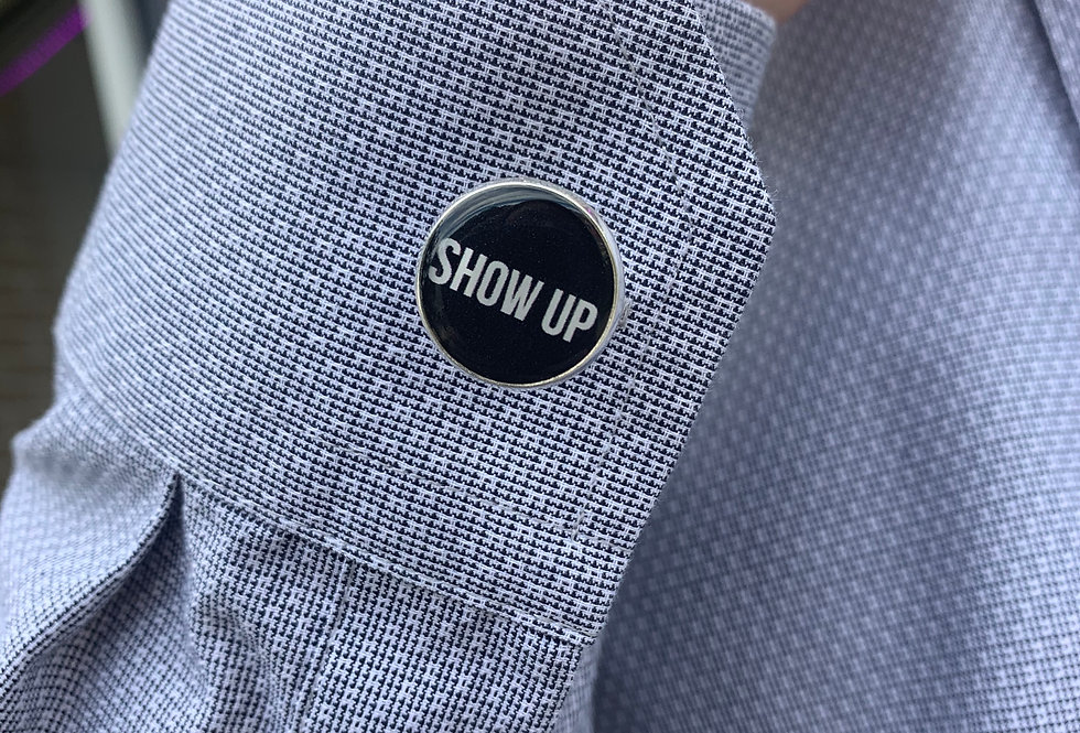 Show Up Cuff Links