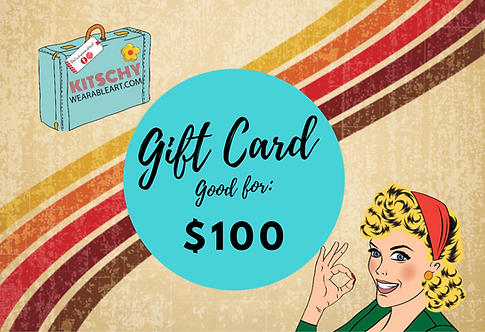 Gift Card: $100