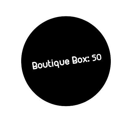 Boutique Box: 50