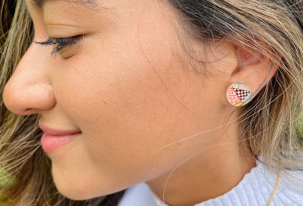 Quilted Studs