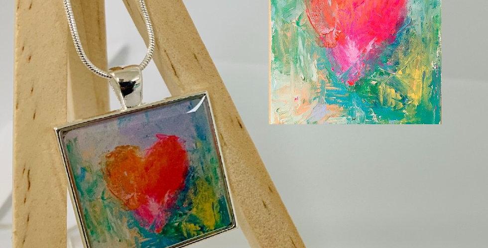LOVE Necklace by Dara Barth
