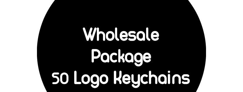 Logo Keychains: 50 Pieces