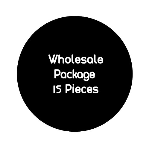 Wholesale Package: 15 pieces