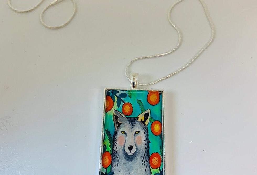 Spanish Wolf Necklace