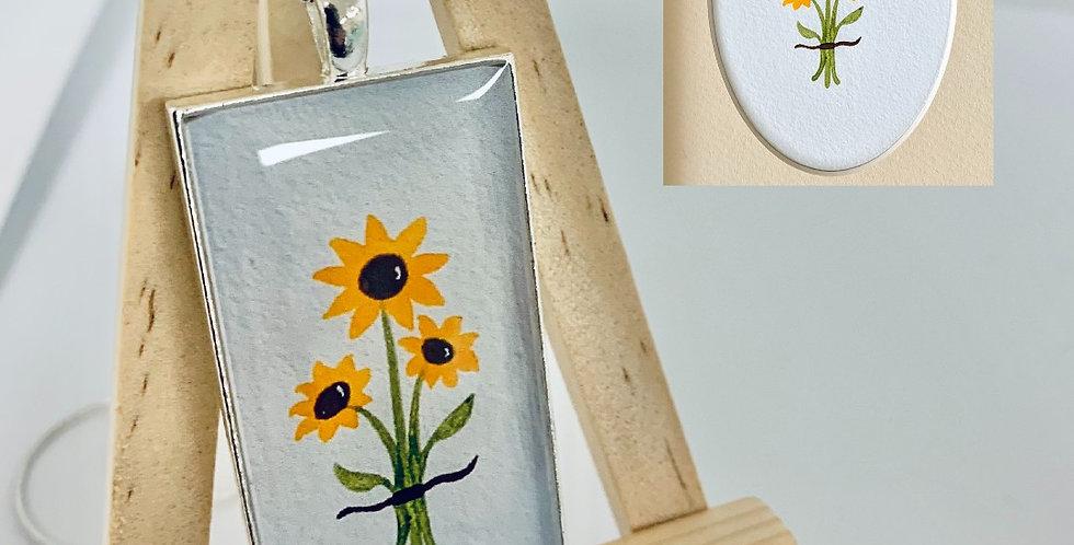 Sunflowers by Stout's Studio Art