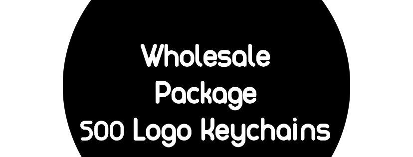 Logo Keychains: 500 Pieces