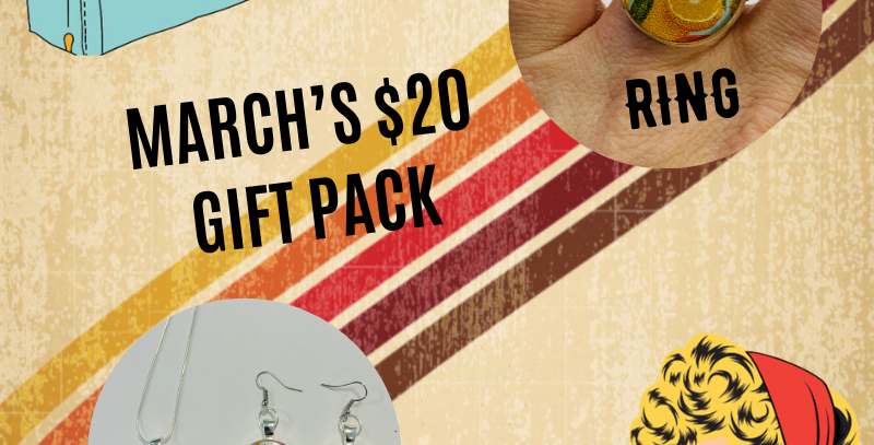 Kitschy's Box of the Month: March 2020