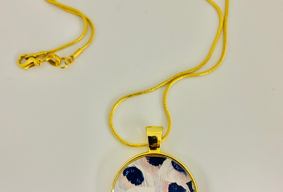 Blushing Anemones Necklace by Melissa Trollo