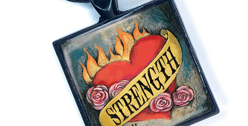 Strength Necklace by KAt Gottlieb