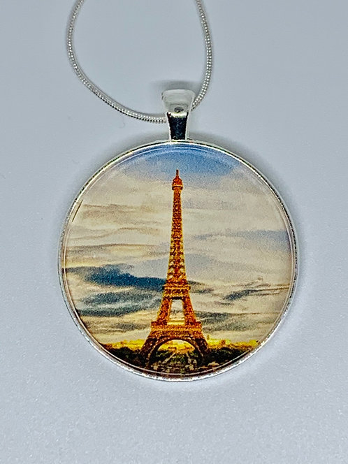 Effiel Tower Necklace or Keychain
