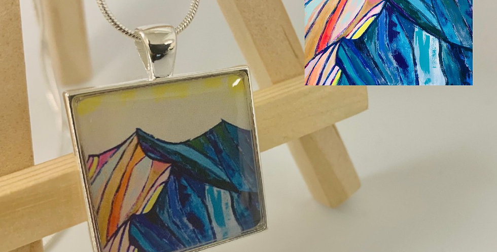 Mountain Necklace by Dara Barth