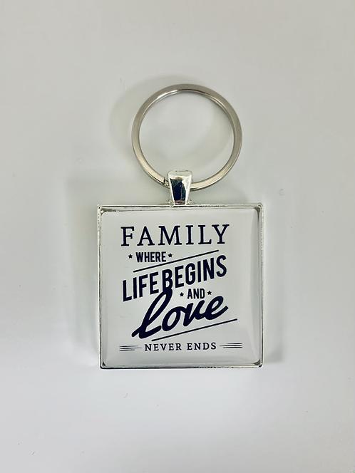 Family Life Keychain