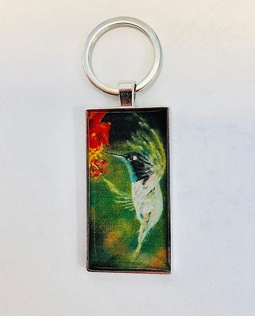 Hummingbird Keychain: Donna Theresa Collection