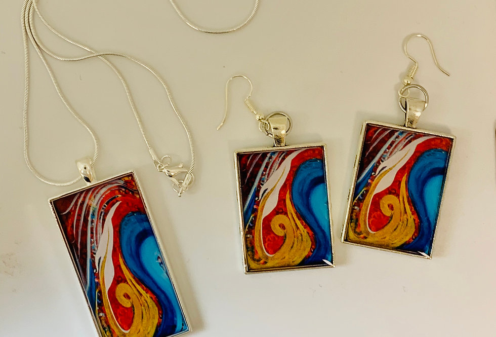 The Winds & Sea Obey Him Jewelry Set