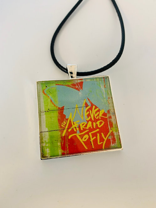 Never Afraid to Fly Necklace