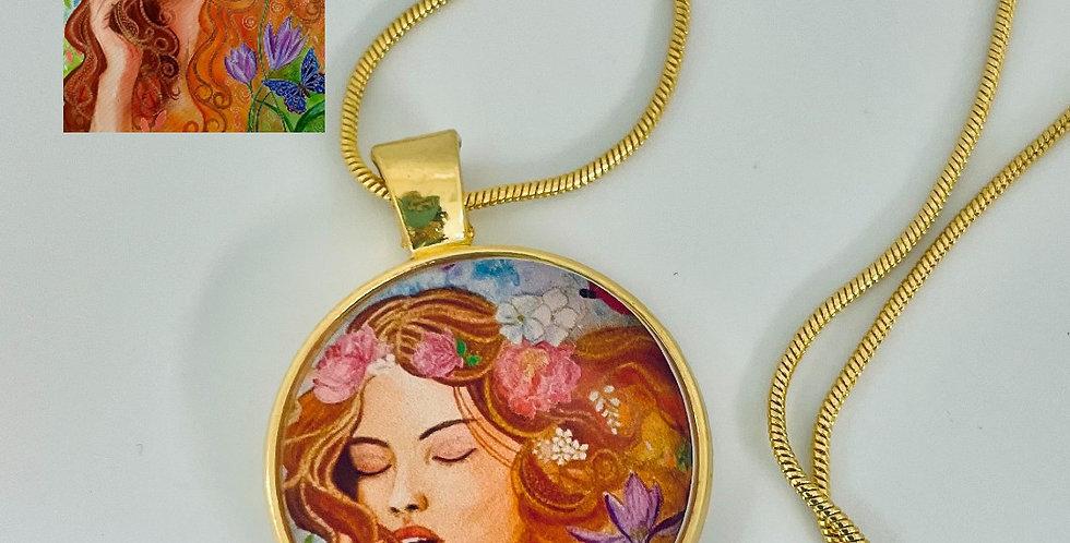 Eternal Spring Necklace by Natalia Vityugova