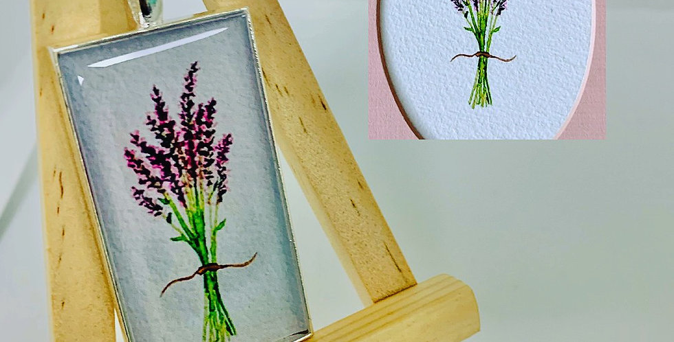 Lavender by Stout's Studio Art