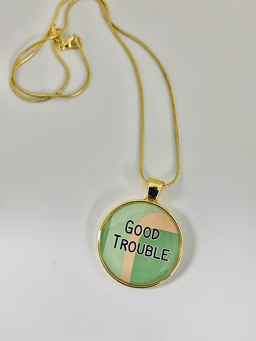 Good Trouble Necklace