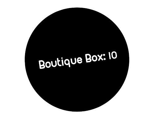 Boutique Box: 10