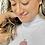 Thumbnail: Pink Plaid Medallion Necklace