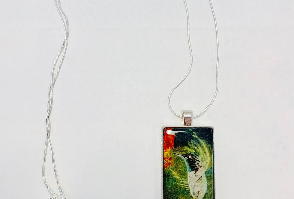 Hummingbird Necklace: Donna Theresa Collection