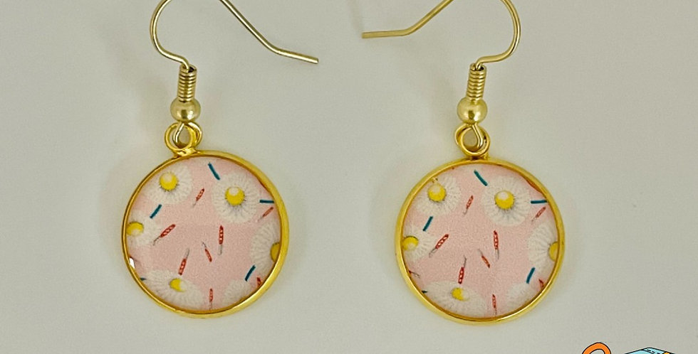 Daisy Chain Earrings by Simra Minahil