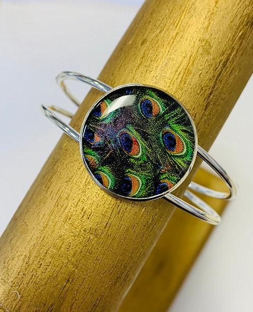 Peacock Bangle