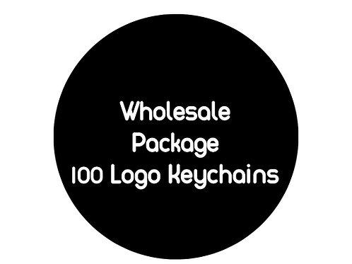 Logo Keychains: 100 Pieces