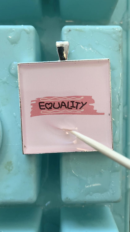 Equality Necklace or Keychain